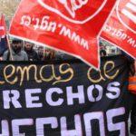 Concentración en defensa del III convenio del trasporte sanitario de Castilla y León