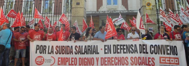 Continuarán las movilizaciones en el transporte sanitario de Castilla y León