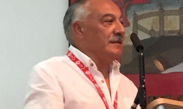 Joaquín de Uña, Secretario General de la recien creada FeSMC-UGT de Valladolid con el 76.78% de los votos