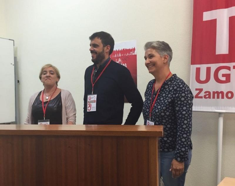 El Congreso Constituyente de FeSMC-UGT de Zamora  ha elegido a Javier del Rio cmo Secretario General con el 100% del los votos
